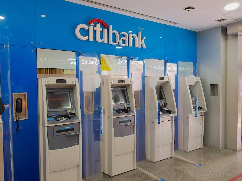 シティバンク_タイ_ATM_Citi Thai