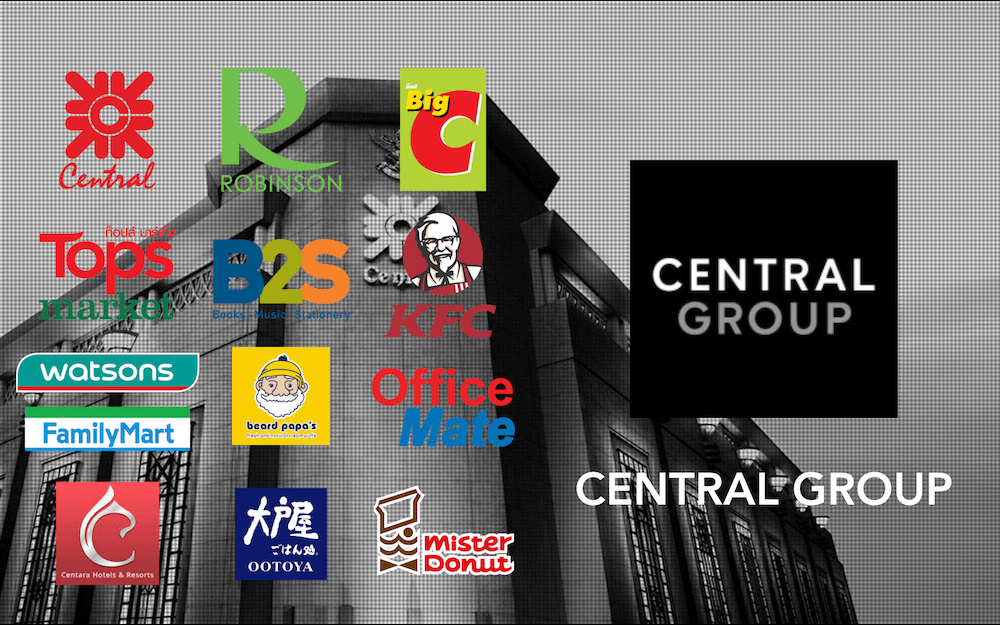 タイ財閥_セントラルグループ_CENTRAL GROUP_BIGC KFC TOPS B2S Office Mate OOTOTYA Centara Hotels Mister Donuts_タイランド ピックス .jpeg_