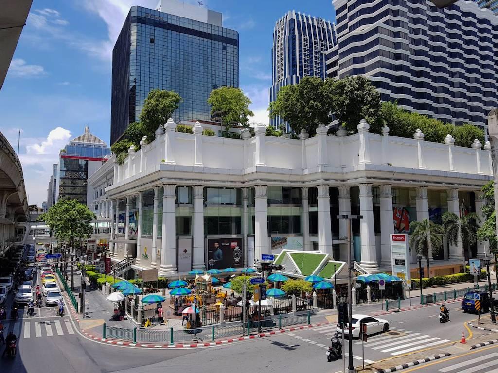 タイ_バンコク_チットロム_ラチャプソン交差点_Ratchaprasong intersection_タイランドピックス