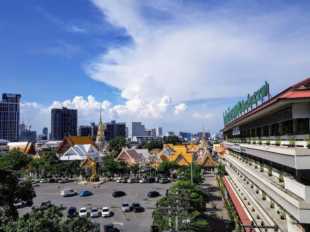 バンコク_エカマイ_ Wat That Thong寺院_タイランドピックス