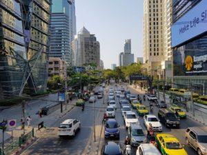 タイ_バンコク_ウィッタユ通り_Thailand _Bangkok_Ploen Chit Wireless Road