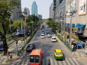 タイ_バンコク_プルンチット通り_Thailand _Bangkok_Ploen Chit Rd