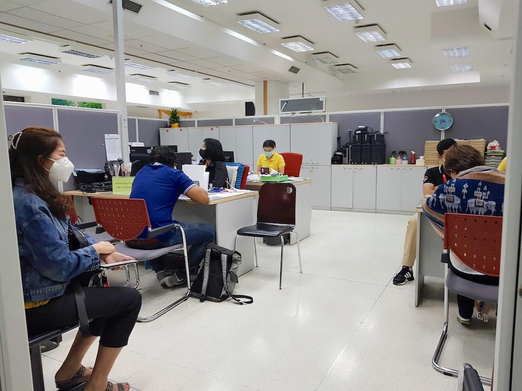 タイ_バンコク_チェーンワッタナー_入国管理局_Thai_Bangkok_Chaeng Wattana_Immigration