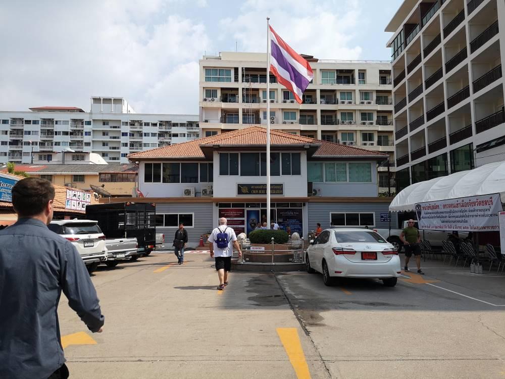タイ_パタヤ_入国管理局_Thai_Jomtien-Pattaya-Immigaration-Office