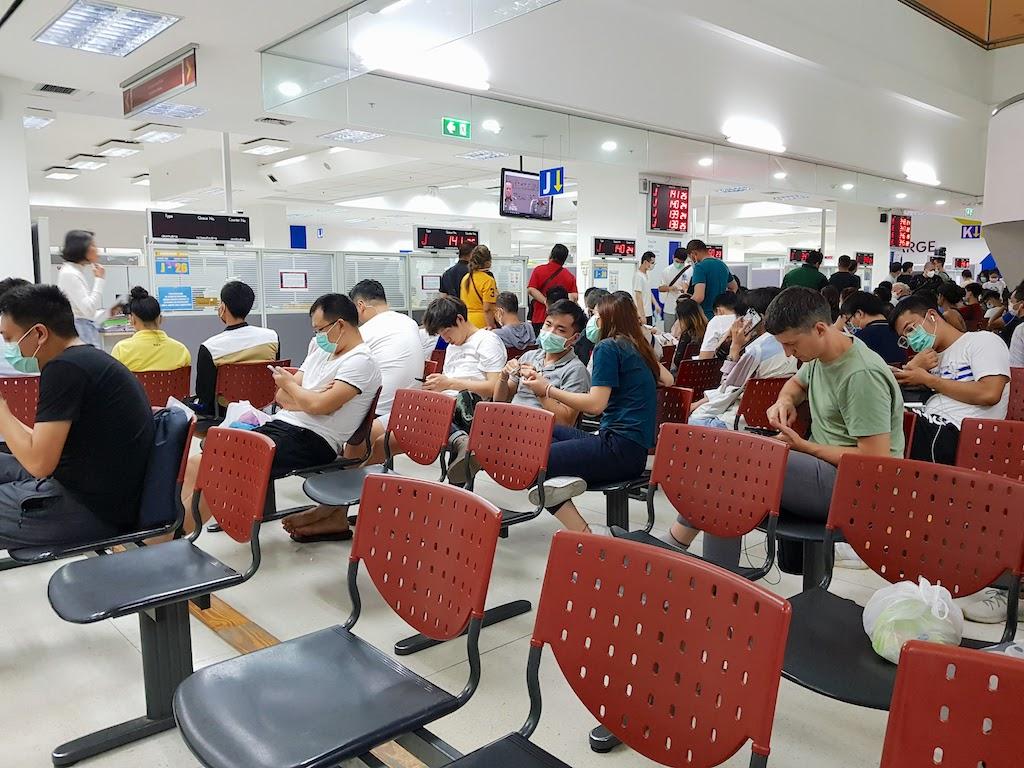 タイ_バンコク_チェーンワッタナー_入国管理局2_Thai_Bangkok_Chaeng Wattana_Immigration_2