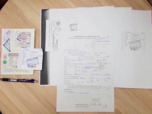 タイ_ビザ延長_申請書_Thai_Visa_Application Form