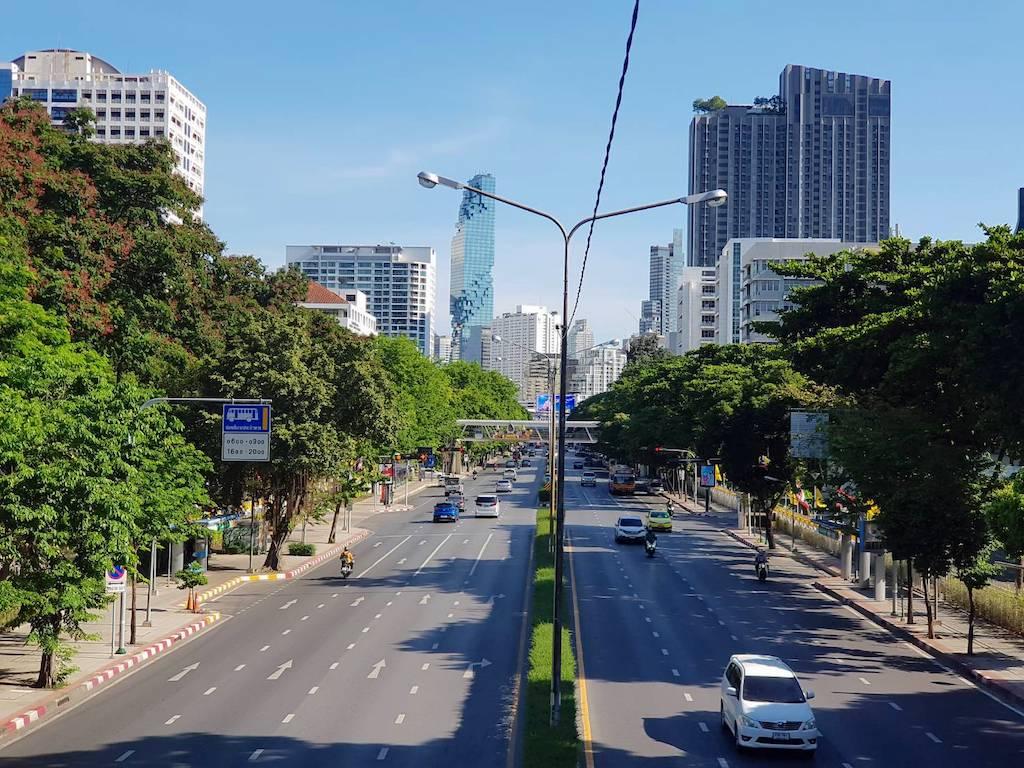 タイ_バンコク_サイアム_パヤタイ通り_Phayathai Rd_タイランドピックスjpg