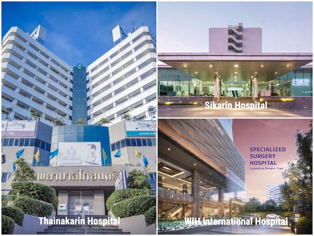 タイ_バンナー _病院_タイナカリン病院_シカリン病院_WIH International Hospital