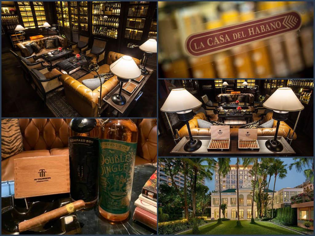 タイ_バンコク_シガーバー_La Casa del Habano_Mandarin Oriental Hotel_タイランドピックス