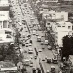 Sukhumvit Road, from Asok intersection to Soi Nana, in 1964