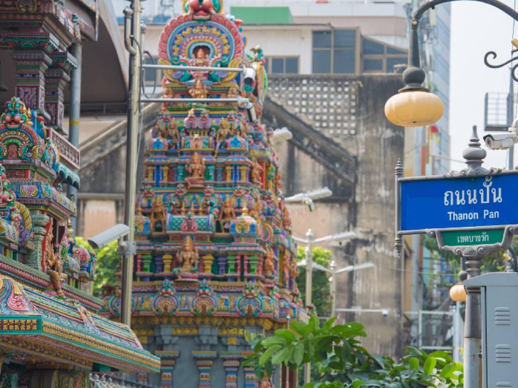 タイ_バンコク_シーロム _Sri Mariamman Temple
