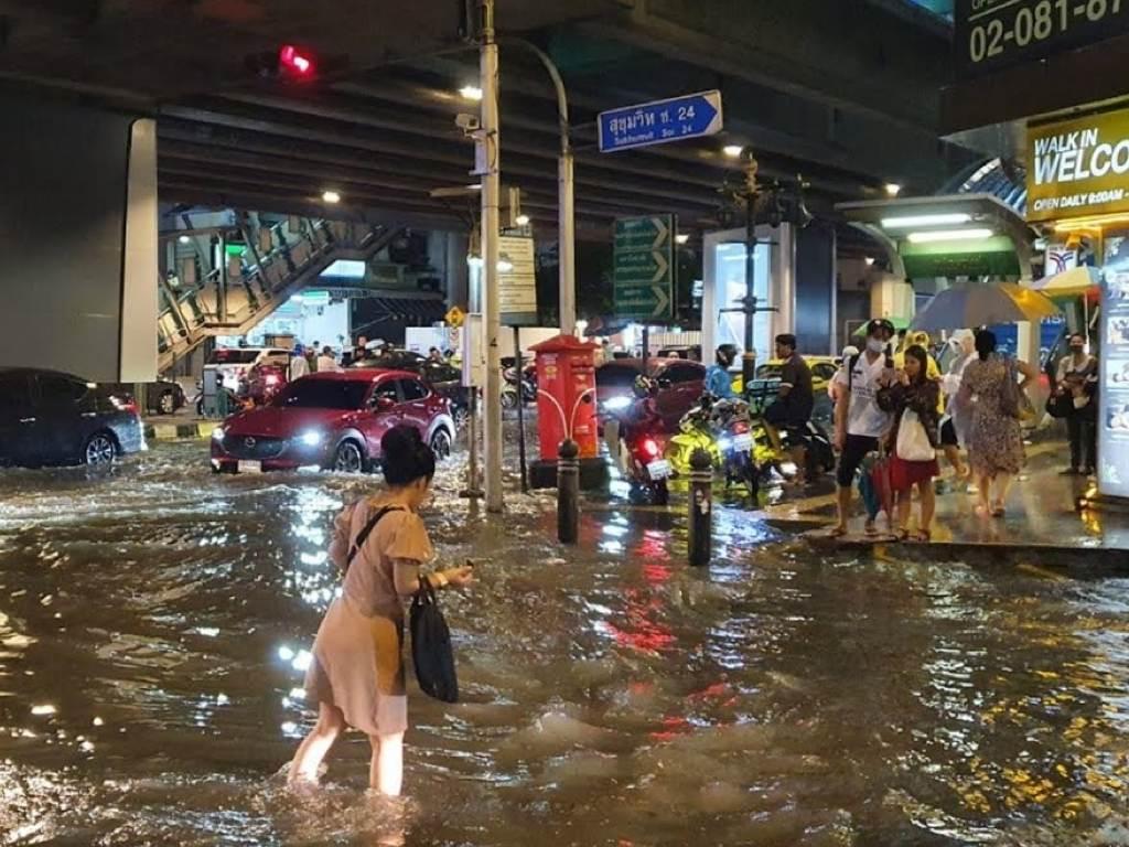 タイ移住-デメリット-雨季冠水-タイランドピックス (1)