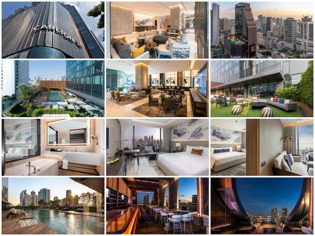 タイ-バンコク高級ホテル-プロンポン-カールトン ホテル バンコク スクンビット-Carlton Hotel Bangkok Sukhumvit-タイランドピックス (1)